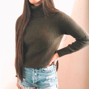 Ralph Lauren Wool Blend Turtle Neck Sweater